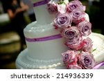 wedding cake | Shutterstock . vector #214936339