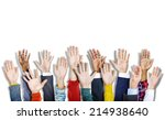 group of multiethnic diverse... | Shutterstock . vector #214938640