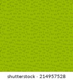 fresh grass seamless vector... | Shutterstock .eps vector #214957528