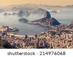 rio de janeiro  brazil. suggar... | Shutterstock . vector #214976068