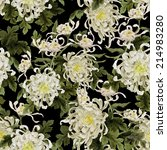 seamless floral pattern with...   Shutterstock . vector #214983280