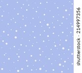 Seamless Pattern With Snow...