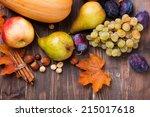 Autumn Harvest. Pears  Apple ...