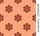 pattern flower background 2 | Shutterstock .eps vector #215065348