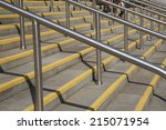 steps and stairs leading up and ... | Shutterstock . vector #215071954