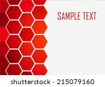 red abstract background | Shutterstock .eps vector #215079160