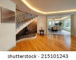 interior design  dining room | Shutterstock . vector #215101243