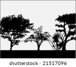 frame illustration with trees | Shutterstock .eps vector #21517096