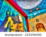 figueres  spain  aug 26  2009 ... | Shutterstock . vector #215196430