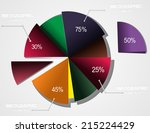 education info graphic vintage... | Shutterstock .eps vector #215224429