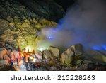 Blue Fire  Kawah Ijen Volcano