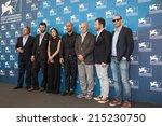venice  italy   september 05 ... | Shutterstock . vector #215230750