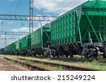Railroad Car For Dry Cargo
