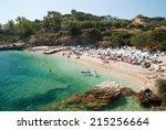 Kassiopi Beach  Corfu Island ...