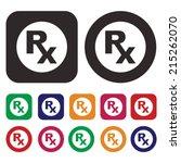 pharmacy  medicine icon | Shutterstock .eps vector #215262070