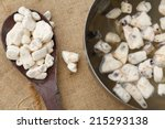 dried baobab fruit pulp. it can ... | Shutterstock . vector #215293138