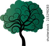 vector tree | Shutterstock .eps vector #215298283