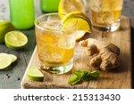 Organic Ginger Ale Soda In A...