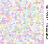 vector background with triangles | Shutterstock .eps vector #215323489