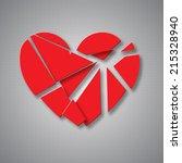 Heart Broken Into Pieces