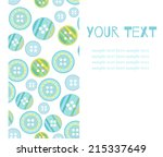 cute invitation for holiday.... | Shutterstock .eps vector #215337649