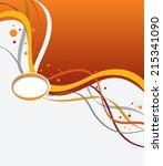 magazine cover  design layout...   Shutterstock .eps vector #215341090