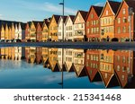 Famous Bryggen Street With...