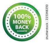 green circle metallic style 100 ...   Shutterstock . vector #215348350