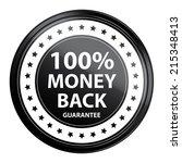 black circle metallic style 100 ...   Shutterstock . vector #215348413