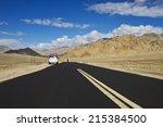 rod in ladakh | Shutterstock . vector #215384500