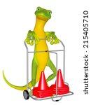 gecko the spotsman | Shutterstock . vector #215405710