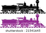 Locomotive Icon Illustration...
