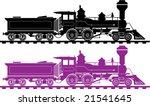 Locomotive Icon Illustration...