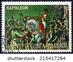 equatorial guinea   circa 1972  ... | Shutterstock . vector #215417284