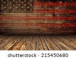 Wooden American Vintage Stage...