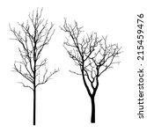 vector black silhouette of a... | Shutterstock .eps vector #215459476