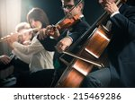 Symphony Orchestra On Stage ...