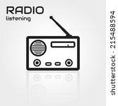 radio   Shutterstock .eps vector #215488594