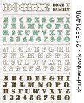 doodle victorian vintage vector ...   Shutterstock .eps vector #215521498