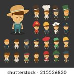 actress,army,artist,boy,business,businessman,career,cartoon,character,chef,conductor,detective,director,doctor,engineer