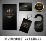 vip members only premium... | Shutterstock .eps vector #215538133