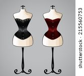 Corsets On Classic Female...