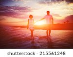 love romance on travel... | Shutterstock . vector #215561248