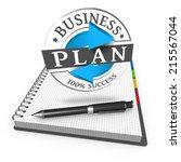 plan grunge stamp as concept | Shutterstock . vector #215567044
