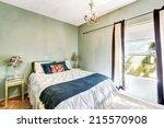 simple bedroom interior in... | Shutterstock . vector #215570908