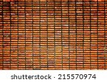 background of brick wall texture | Shutterstock . vector #215570974