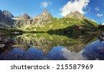 Green Lake In Tatra Mountain ...