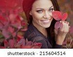Autumn Woman Fashion Portrait....