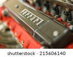 maranello  italy   april 30 ... | Shutterstock . vector #215606140