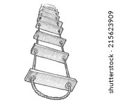 engraving style hatching pen... | Shutterstock . vector #215623909